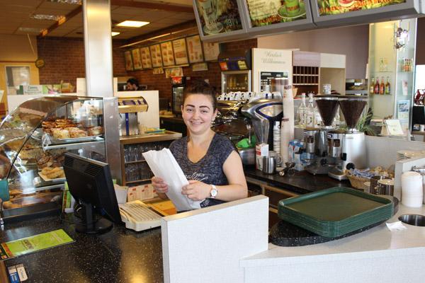 Lavazza Kaffee Theke Autohof Neumarkt