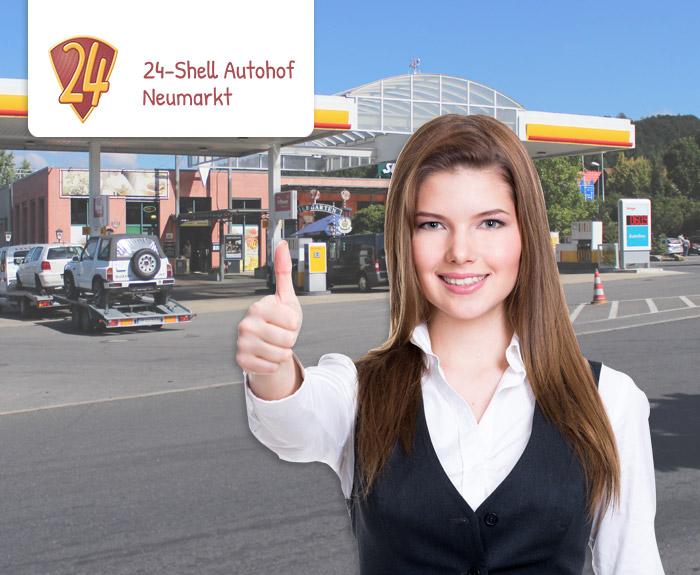 24 Shell Autohof Neumarkt Mitarbeiter gesucht