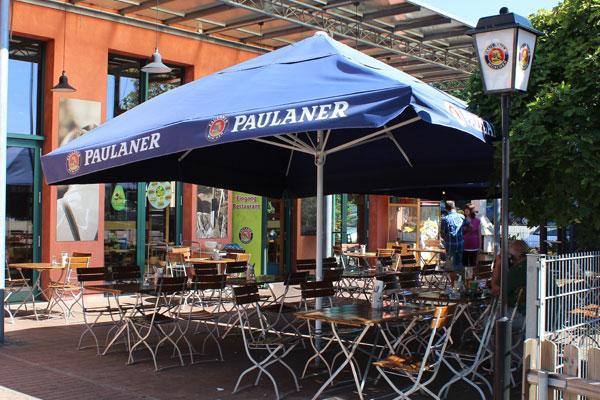 Autohof Neumarkt Paulaner Biergarten