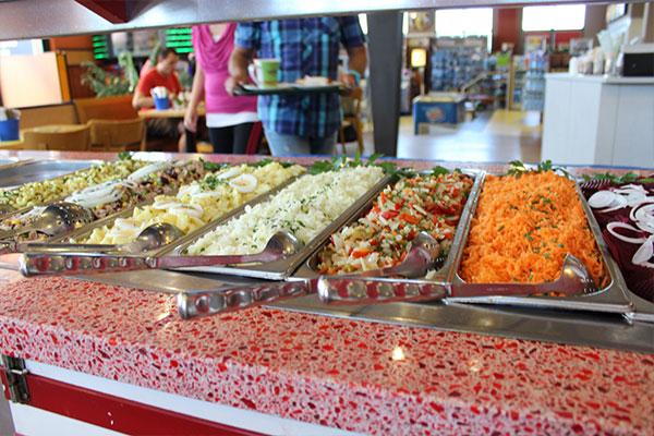 Autohof Neumarkt Salatbuffet
